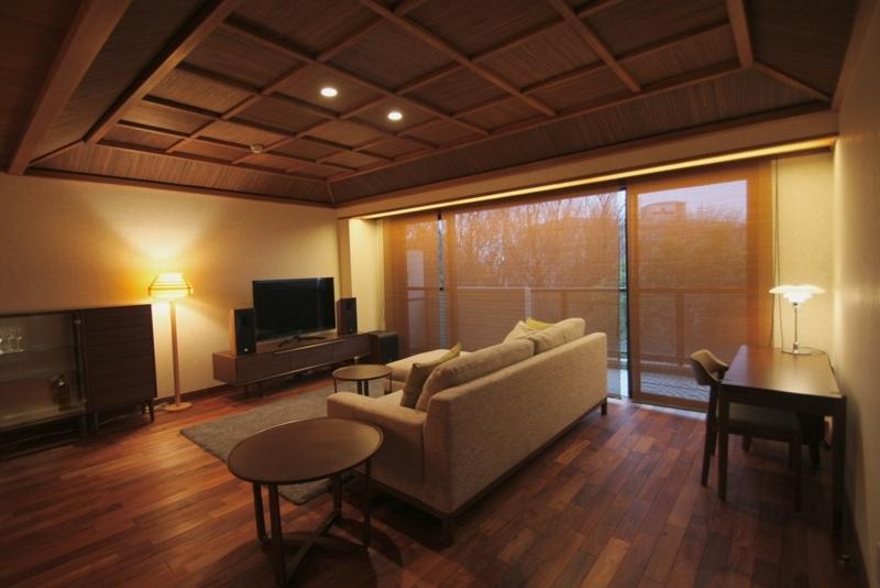 アジアンな家の内装