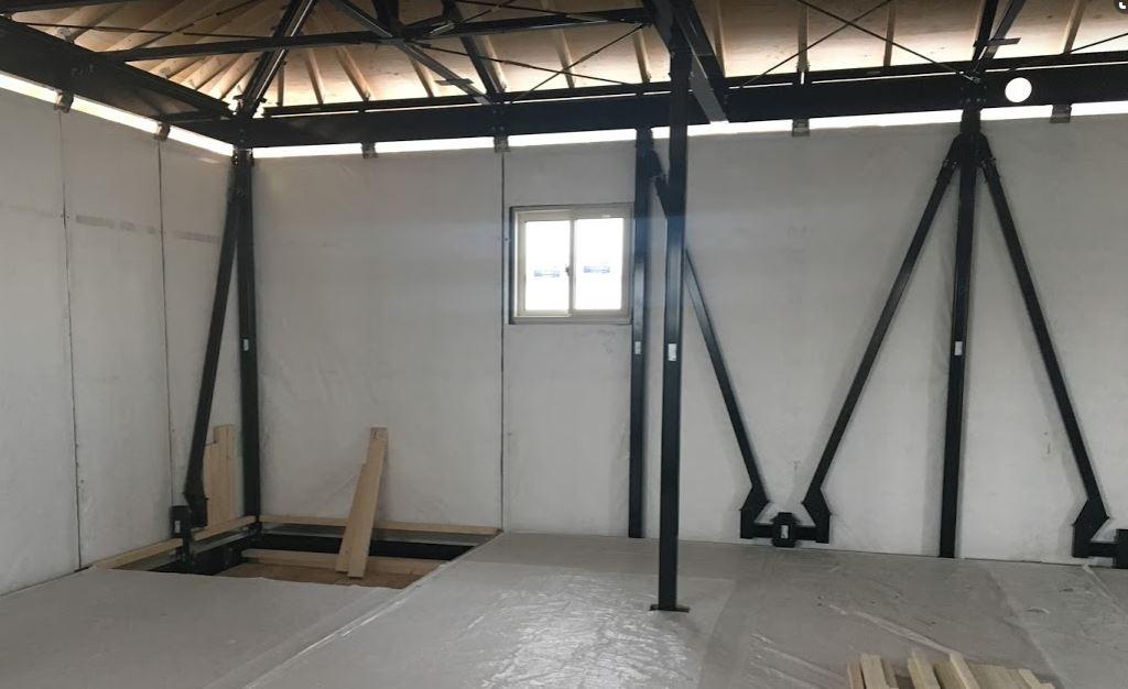 ダイワハウスXEVOΣの鉄骨-柱(我が家2階)