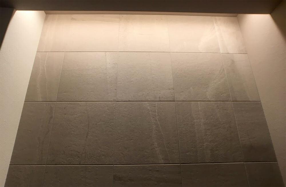 Web内覧会-1階トイレのエコカラットストーングレース