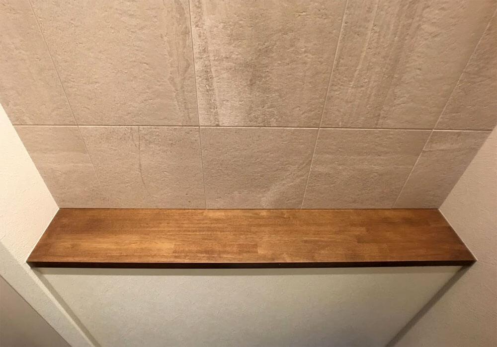 Web内覧会-1階トイレのカウンター