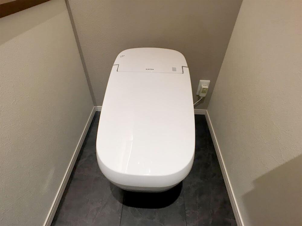 Web内覧会-1階トイレ便器全体