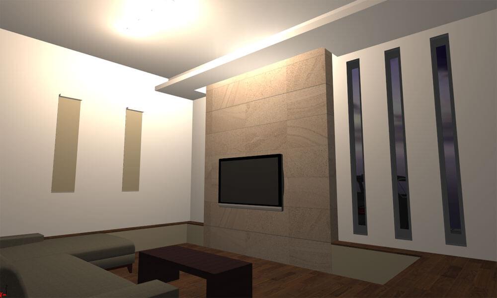マイホームデザイナー3Dで作った間接照明