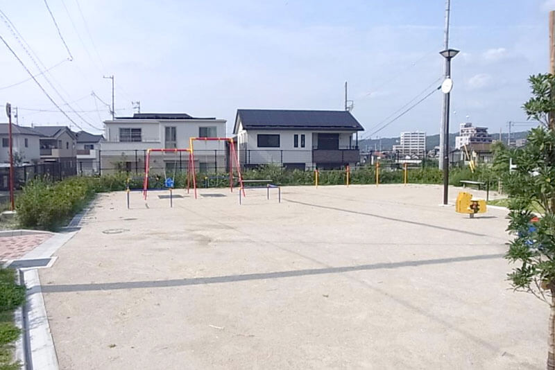 分譲地内の公園