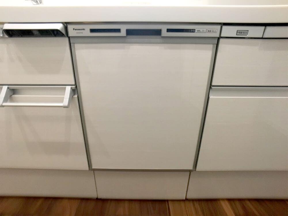 Web内覧会-キッチンの食器洗い乾燥機