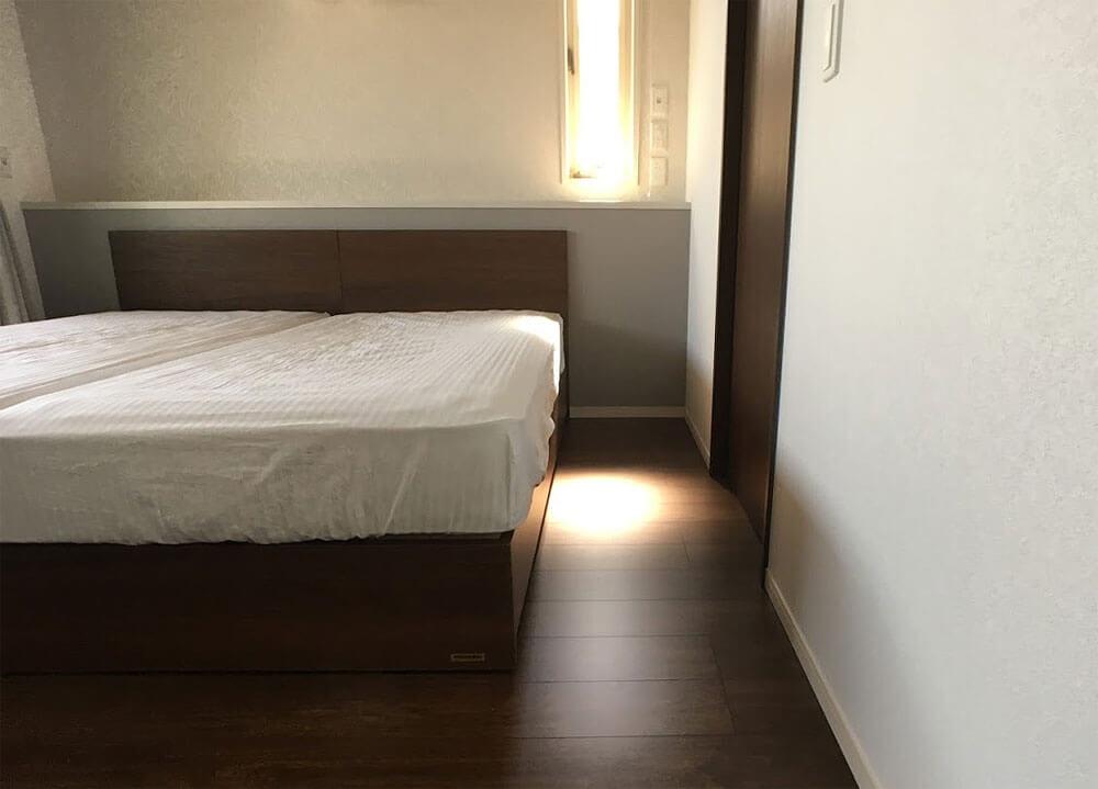 WEB内覧会-主寝室の通路幅